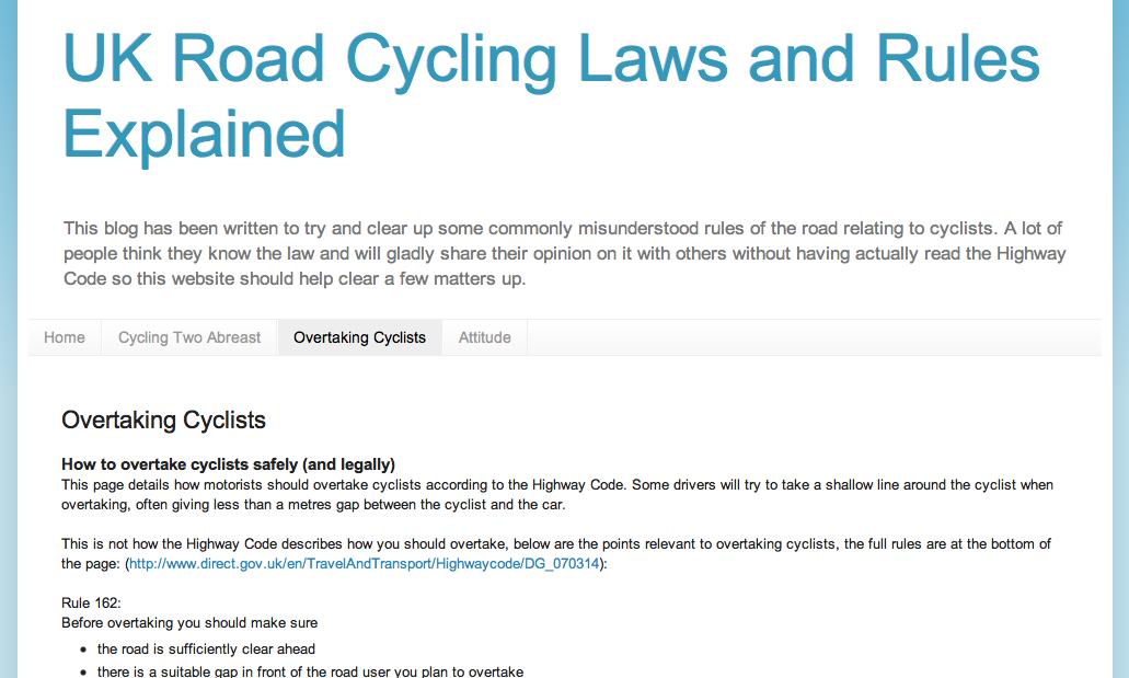 051b816eb UK cycling laws - The Cycle HubThe Cycle Hub